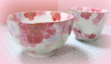 桜の柄の食器_1_1.jpg